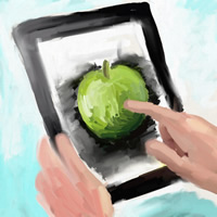 iPad Art Workshop Logo