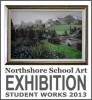 NORTHSHORE SCHOOL OF ART ANNUAL EXHIBITIION 2013 POSTER