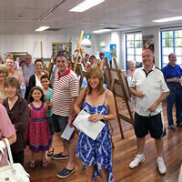 annual exhibition at mosman art gallery